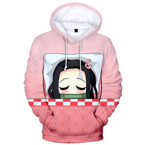 Demon Slayer Kimetsu no Yaiba Kamado Nezuko Anime Hoodie
