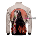 Demon Slayer: Kimetsu no Yaiba Kamado Nezuko Jacket/Coat - D