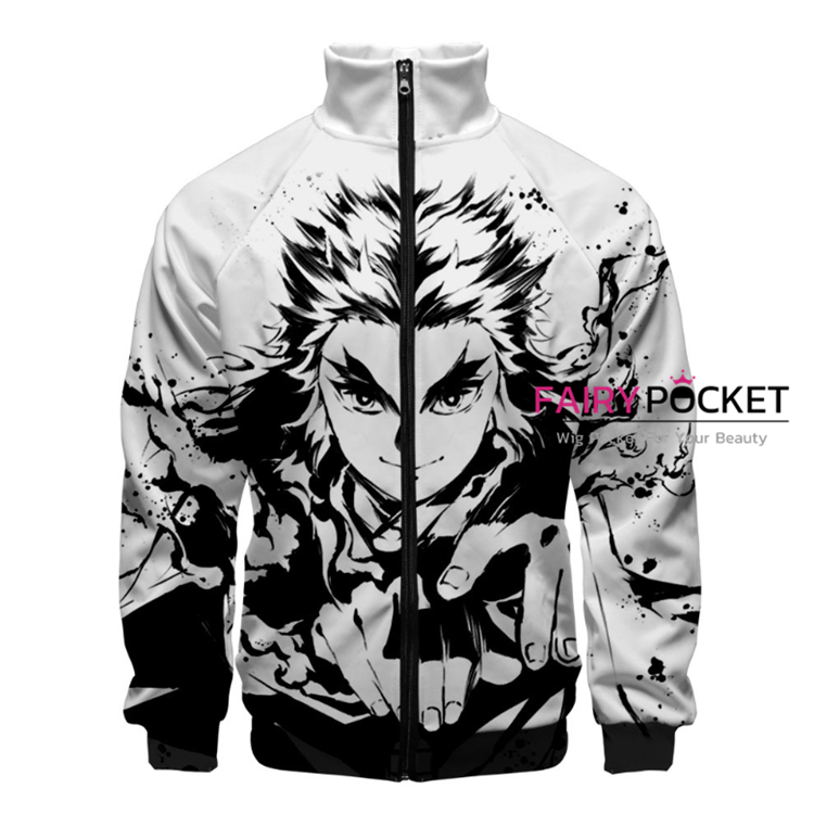 Demon Slayer: Kimetsu no Yaiba Rengoku Shinjurou Jacket/Coat