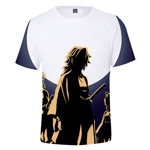 Demon Slayer: Kimetsu no Yaiba Tomioka Giyuu T-Shirt - F