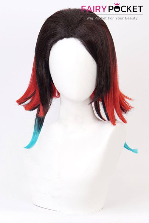 Demon Slayer: Kimetsu no Yaiba Enmu Cosplay Wig - B