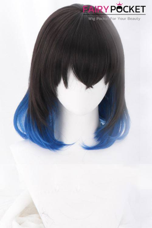 Demon Slayer: Kimetsu no Yaiba Hashibira Inosuke Cosplay Wig - B