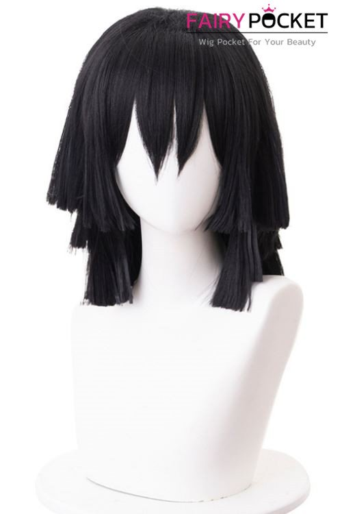 Demon Slayer: Kimetsu no Yaiba Iguro Obanai Cosplay Wig