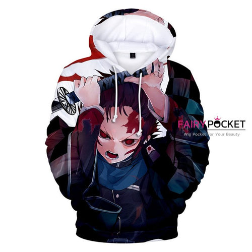 Demon Slayer: Kimetsu no Yaiba Kamado Tanjirou Hoodie