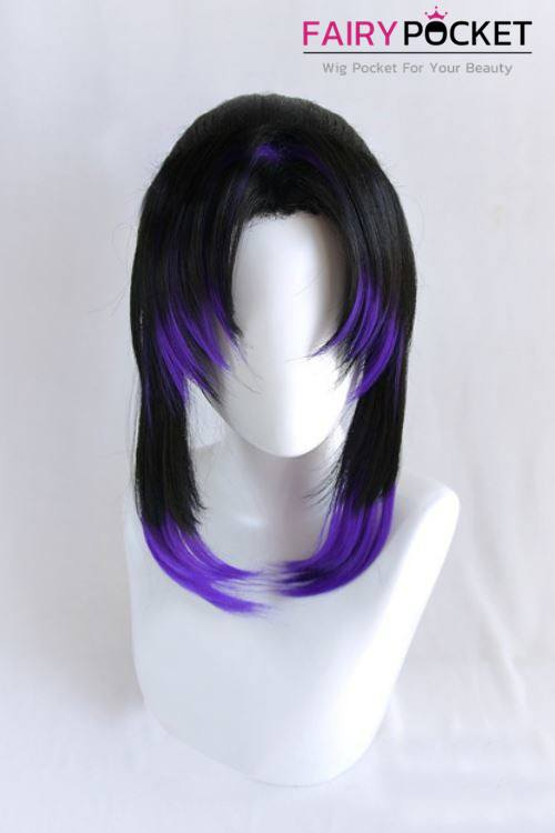 Demon Slayer: Kimetsu no Yaiba Kochou Shinobu Cosplay Wig