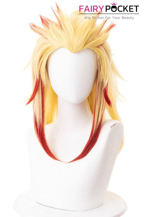 Demon Slayer: Kimetsu no Yaiba Rengoku Kyoujurou Cosplay Wig