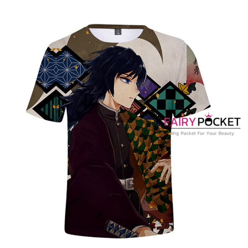 Demon Slayer: Kimetsu no Yaiba Tomioka Giyuu T-Shirt