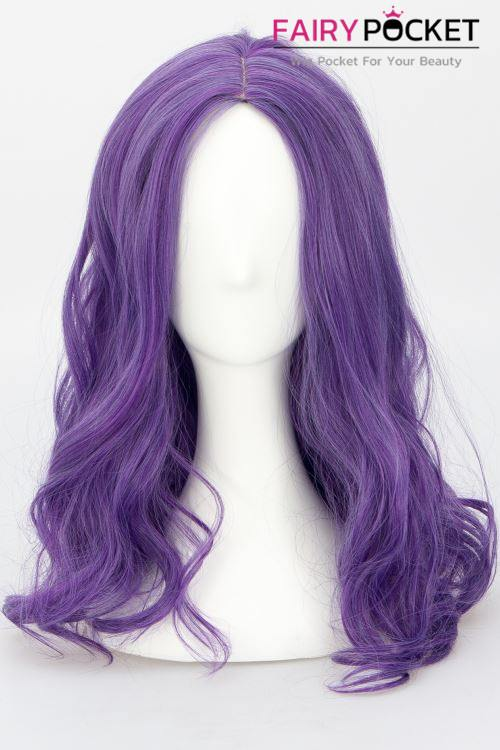 Descendants 3 Mal Cosplay Wig