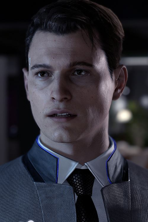 Detroit Become Human Connor Cosplay Wig Fairypocket Wigs