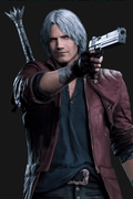 Devil May Cry 5 Dante Cosplay Wig
