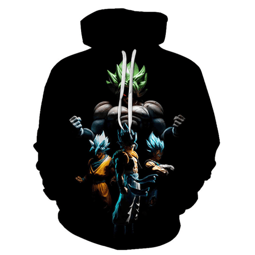 Dragon Ball Anime Hoodie - EN