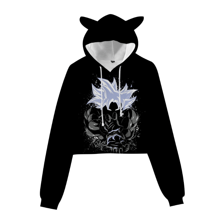 Dragon Ball Cat Ear Hoodie - P