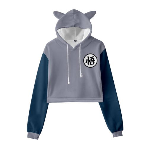 Dragon Ball Cat Ear Hoodie - X