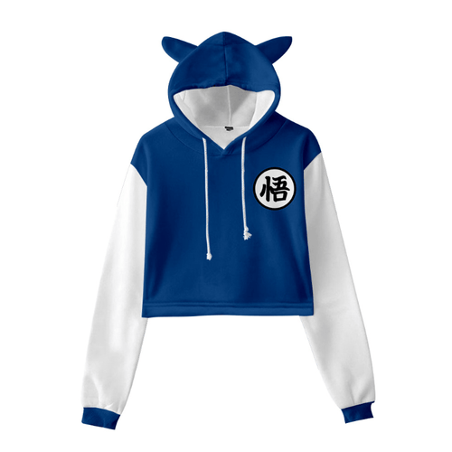 Dragon Ball Cat Ear Hoodie - Y