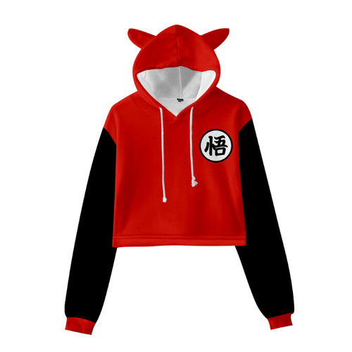 Dragon Ball Cat Ear Hoodie - Z