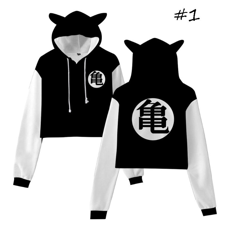 Dragon Ball Cat Ear Hoodie (6 Colors)