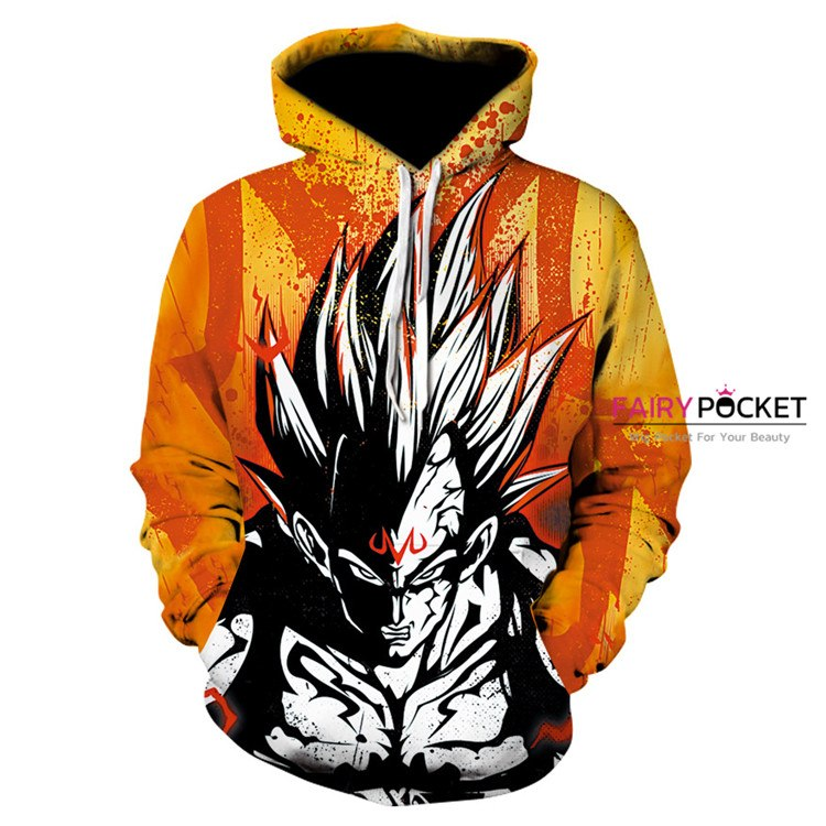 Dragon Ball Goku Super Saiyan Hoodie - B
