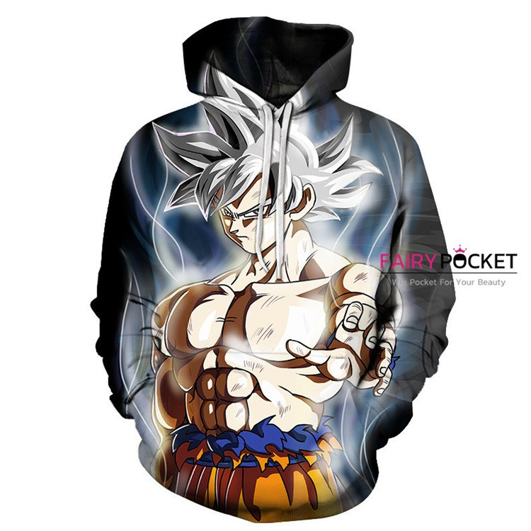 Dragon Ball Son Goku Super Saiyan Hoodie - E