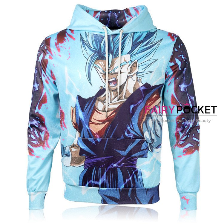 Dragon Ball Son Goku Super Saiyan Blue Hoodie