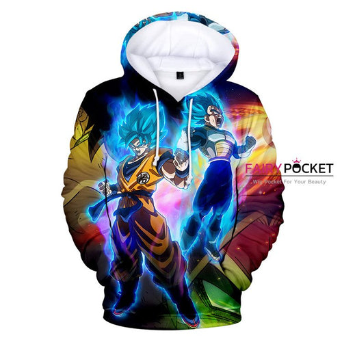 Dragon Ball Super: Broly Hoodie - F