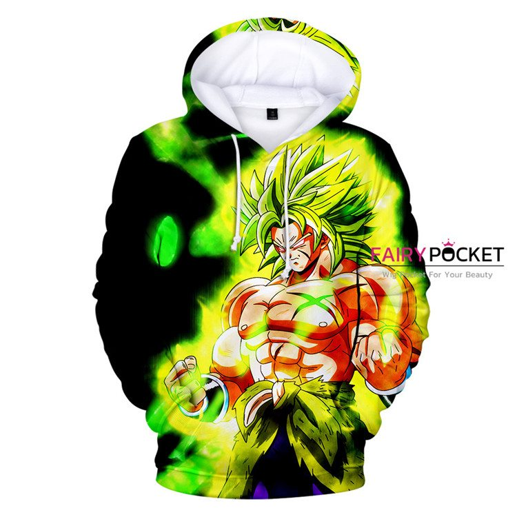 Dragon Ball Super: Broly Hoodie - T