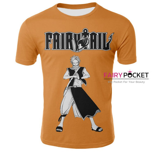 3be6946c Fairy Tail Etherious Natsu Dragneel T-Shirt - C