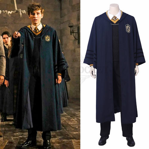 Fantastic Beasts: The Crimes of Grindelwald Young Newt Scamander Cosplay Costume