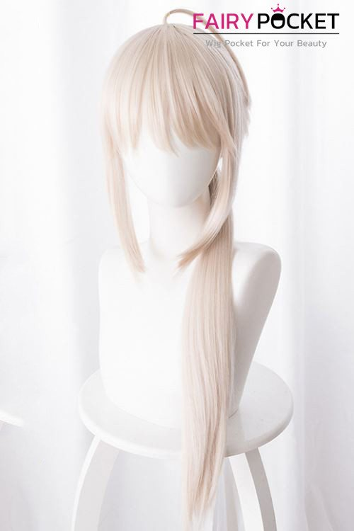 Fate/Grand Order Arturia Pendragon Cosplay Wig