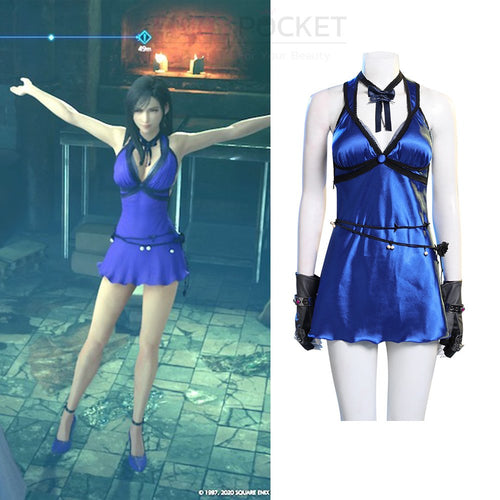 Final Fantasy 7 Tifa Lockhart Cosplay Costume