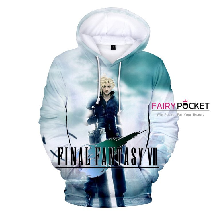 Final Fantasy Cloud Strife Hoodie