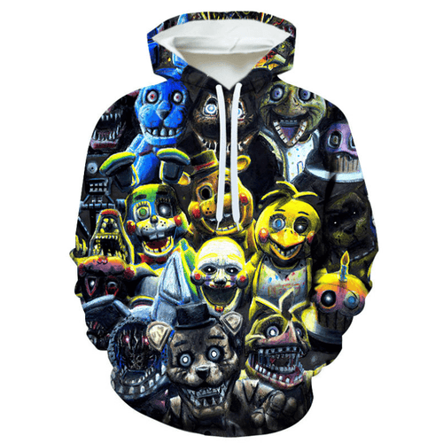 Five Nights at Freddy's Hoodie - BG