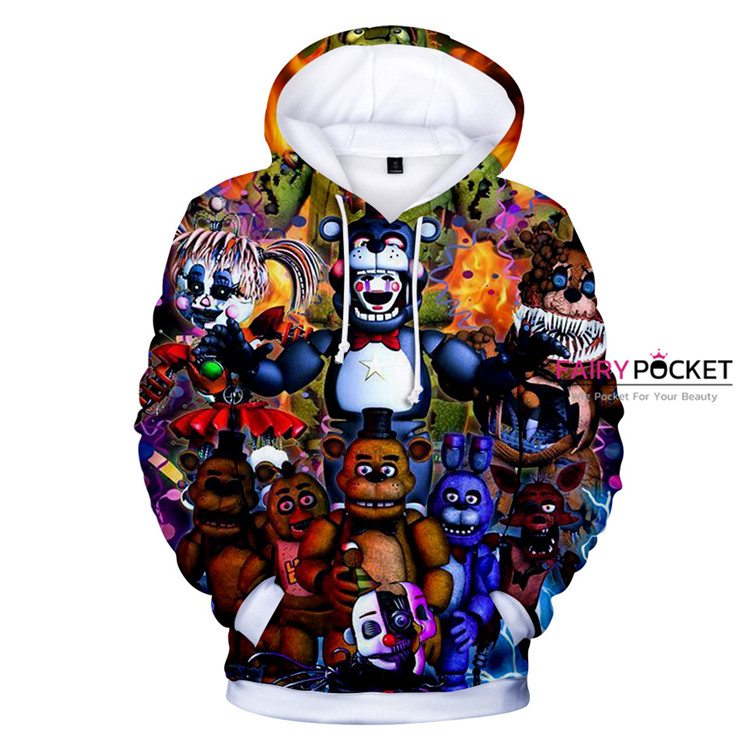 Five Nights at Freddy's All in One Hoodie
