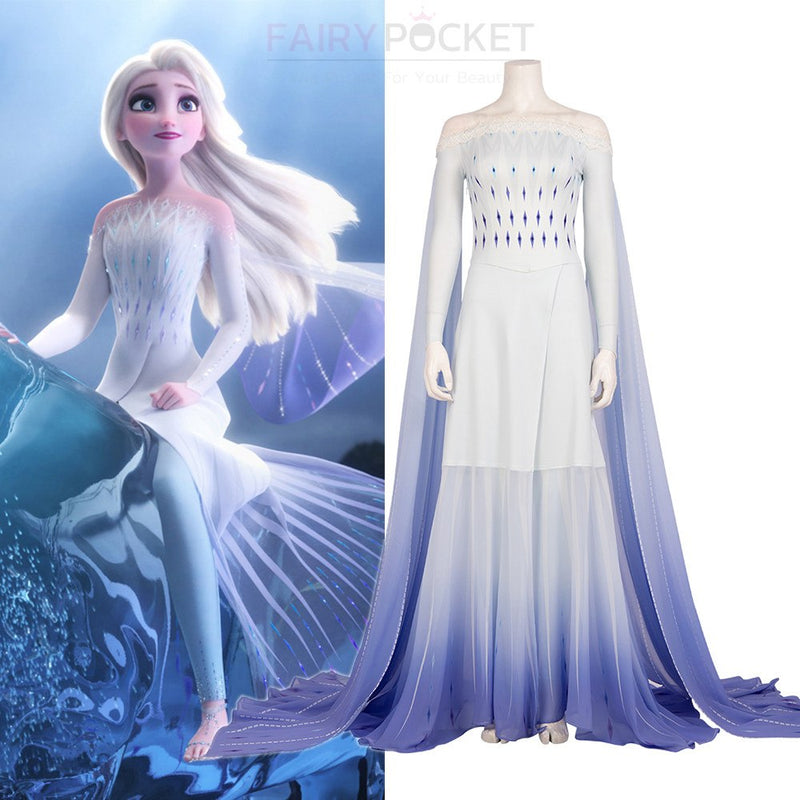 Frozen 2 Elsa Cosplay Costume