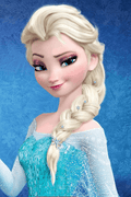 Frozen  Princess Elsa Cosplay Wig