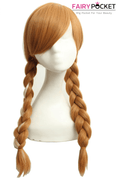 Frozen Travel Anna Cosplay Wig