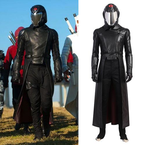 G.I. Joe:The Rise of Cobra Cobra Commander Cosplay Costume