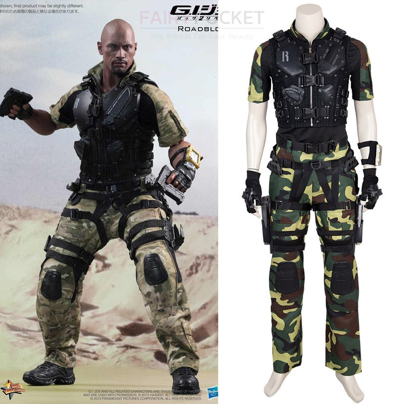 G.I. Joe 3 Roadblock Cosplay Costume