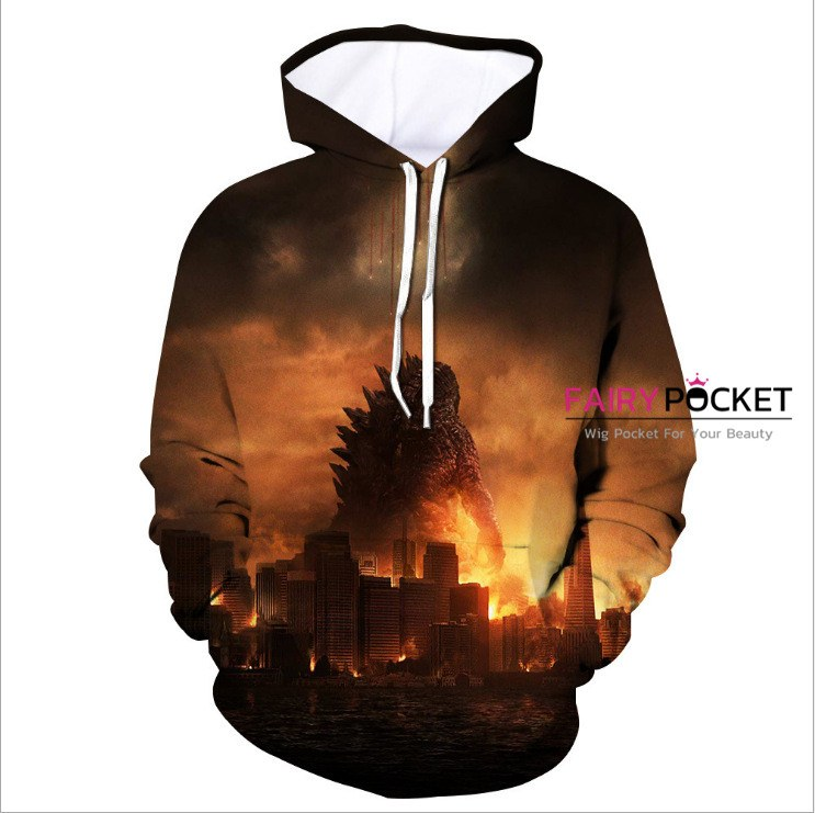 Godzilla: King of the Monsters Hoodie - N