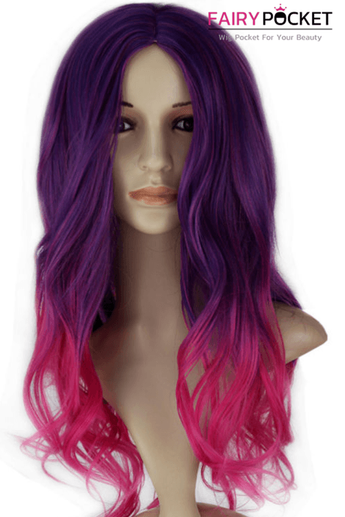 Guardians of the Galaxy Gamora Cosplay Wig