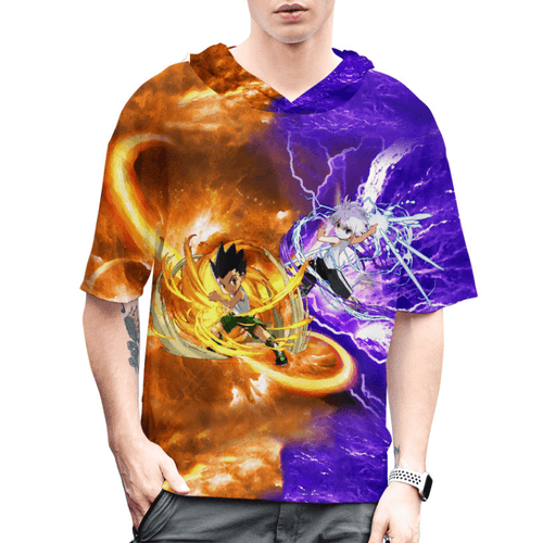 HUNTER×HUNTER Gon Freecss & Killua Zoldyck Anime T-Shirt