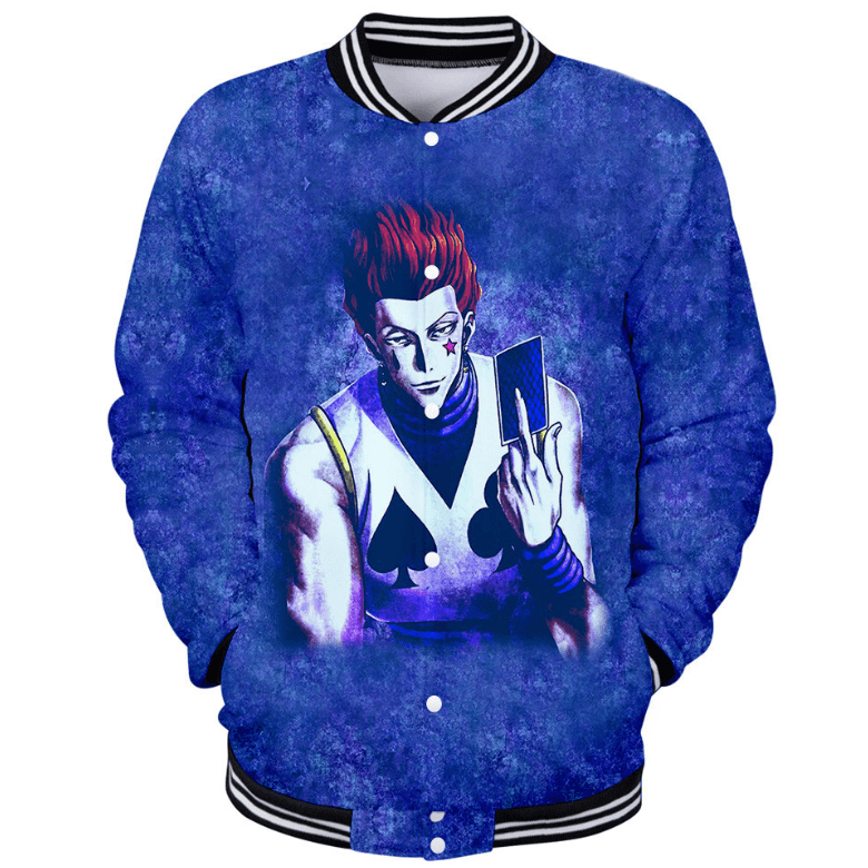 HUNTER×HUNTER Hisoka Anime Jacket/Coat - G