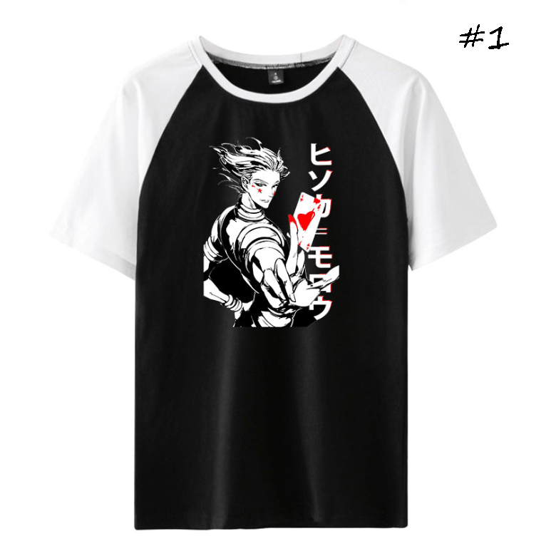 HUNTER×HUNTER Hisoka Anime T-Shirt (3 Colors)
