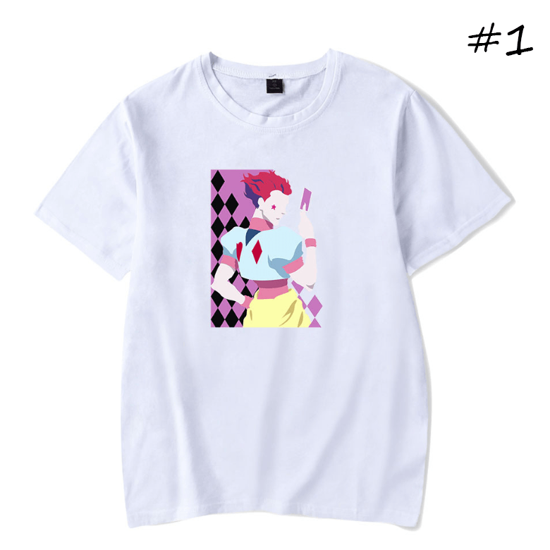 HUNTER×HUNTER Hisoka Anime T-Shirt (5 Colors) - E