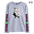 HUNTER×HUNTER Long-Sleeve Anime T-Shirt (3 Colors)