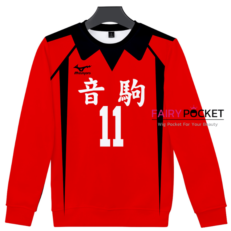 Haikyuu!! Long-Sleeve T-Shirt - C