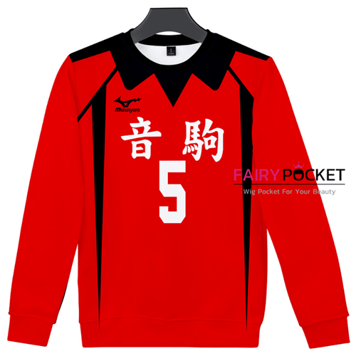 Haikyuu!! Long-Sleeve T-Shirt - E