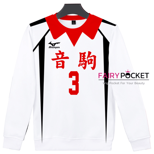 Haikyuu!! Long-Sleeve T-Shirt - H