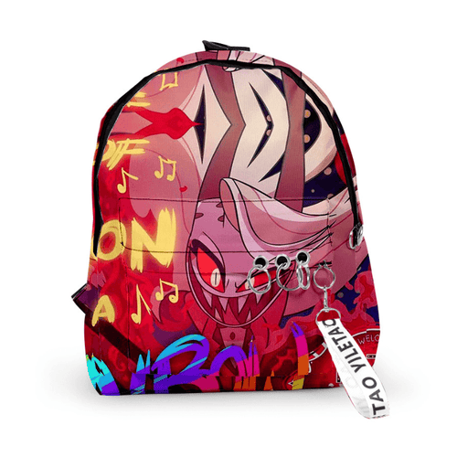 Hazbin Hotel Backpack - D
