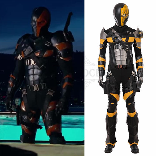 Justice League Deathstroke Cosplay Costume