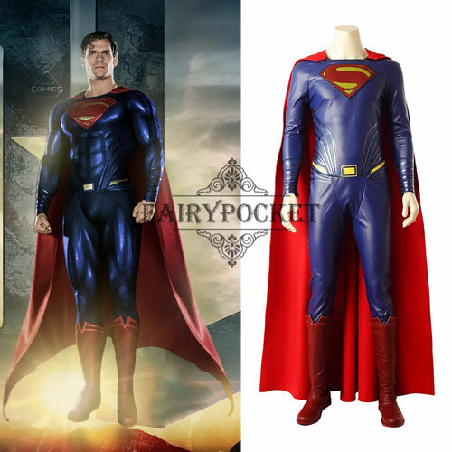 Justice League Superman Cosplay Costume
